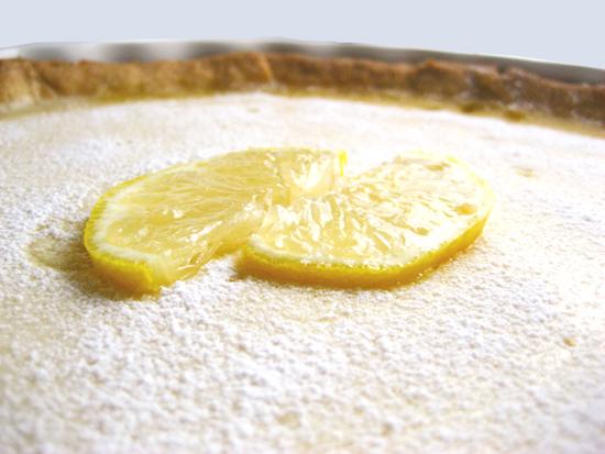 Lemon Tart/Τάρτα λεμόνι