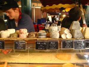 cheese-stall