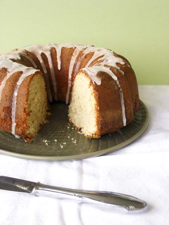 tahini and orange easy bundt cake