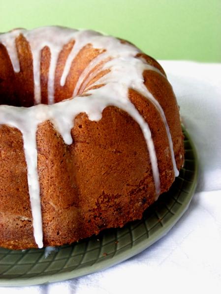 orange tahini cake