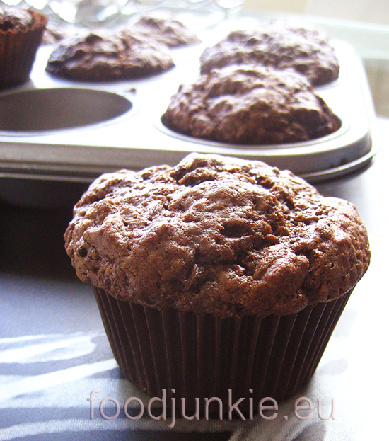 chocolate muffins wtr