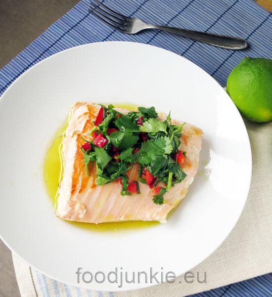 salmon-with-coriander
