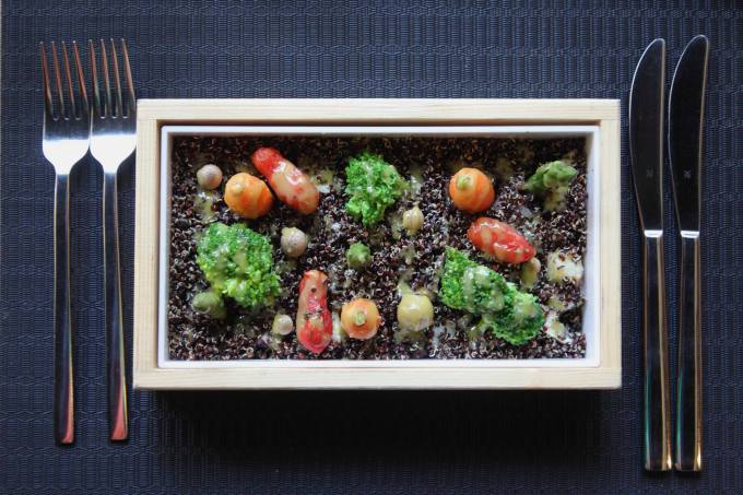 garden salad in a box