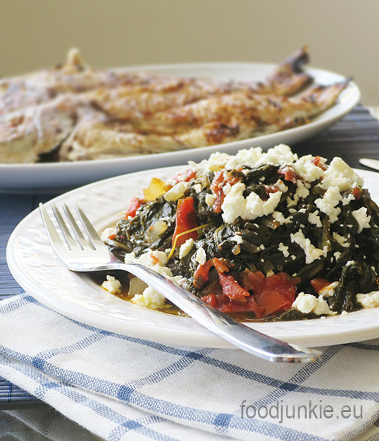 cooked-greens-with-tomato-and-feta